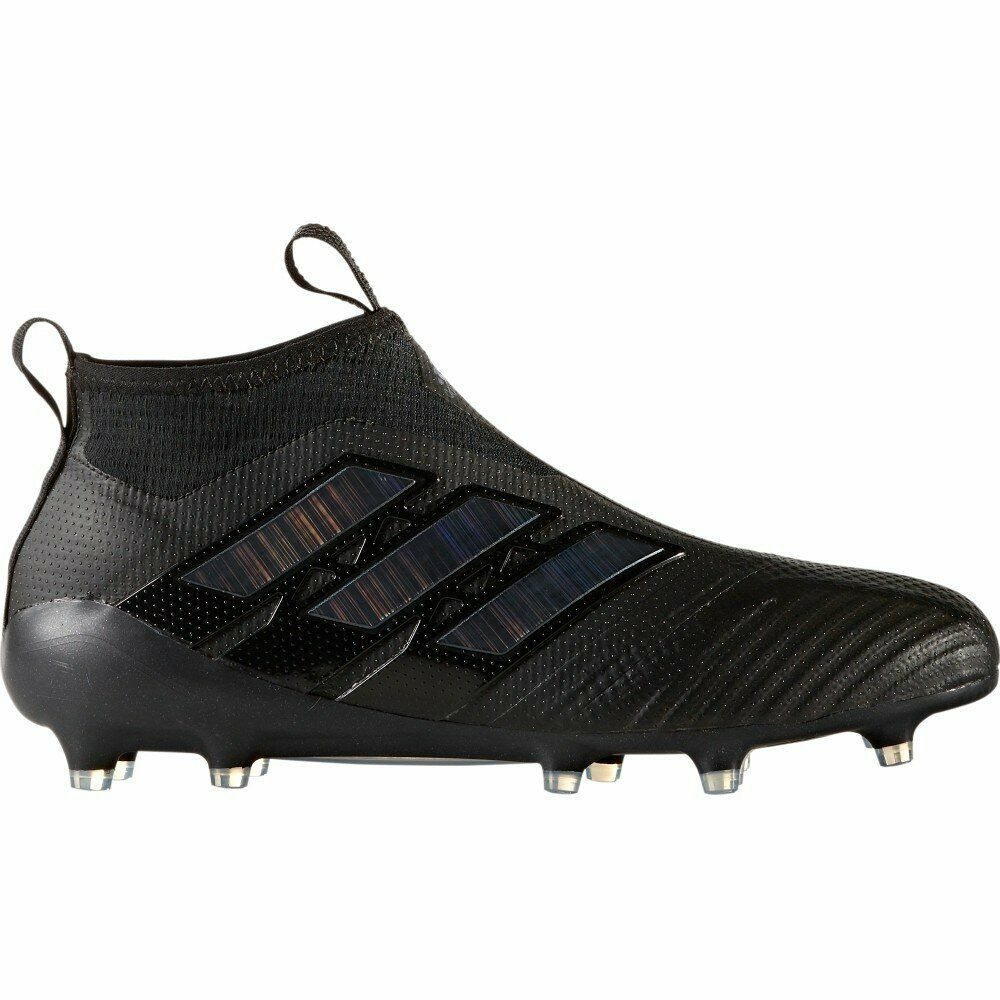 Adidas ACE 17 Purecontrol FG Soccer Cleats (Core Black/Utility ...