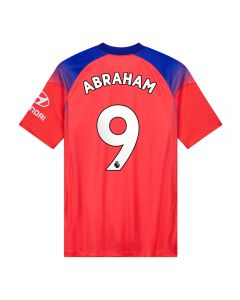 Nike Youth Chelsea 'ABRAHAM 9' Third Jersey '20-'21 (Ember Glow/Concord/White)