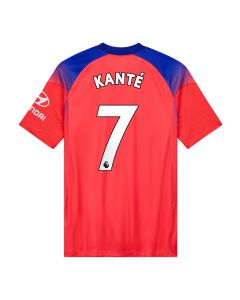 Nike Youth Chelsea 'KANTE 7' Third Jersey '20-'21 (Ember Glow/Concord/White)