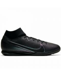 Nike Mercurial Superfly 7 Academy IC Indoor Soccer Shoes (Black)