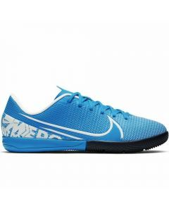 Nike Youth Vapor 13 Academy IC Indoor Soccer Shoes (Blue Hero/White/Obsidian)