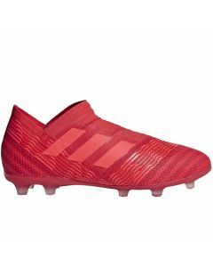 Adidas Nemeziz 17+ Youth FG Soccer Cleats (Real Coral/Red Zest)