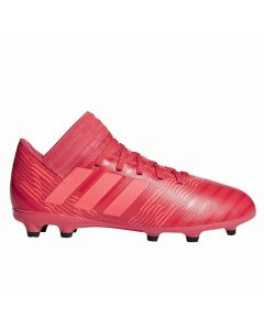 Adidas Nemeziz 17.3 Youth FG Soccer Cleats (Real Coral/Red Zest)