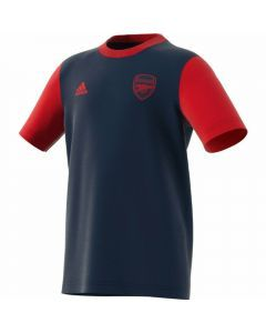 Adidas Youth Arsenal FC Graphic T-Shirt (Collegiate Navy/Scarlet)