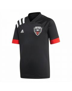Adidas Youth DC United Primary Jersey 2020 (Black/White)