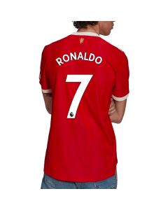 Adidas Manchester United 'RONALDO 7' Home Authentic Soccer Jersey '21-'22