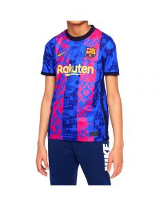 Nike Barcelona Third Youth Soccer Jersey '21-'22