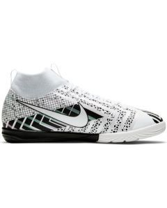 Nike Youth Mercurial Superfly 7 Academy MDS Indoor Soccer Shoe (White/White-Black)