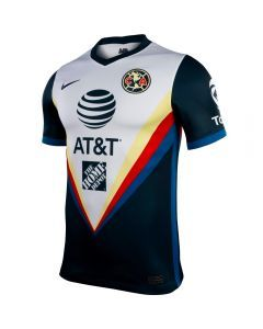 Nike Club America Away Jersey '20-'21 (Armory Navy/White/Industrial Blue)