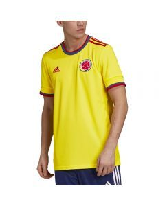 Adidas Colombia '20-'21 Home Soccer Jersey (Bright Yellow)