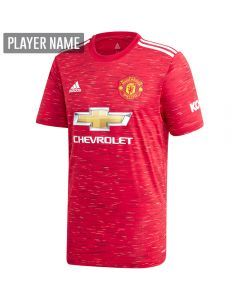 Adidas Manchester United Home Jersey '20-'21 (Real Red)