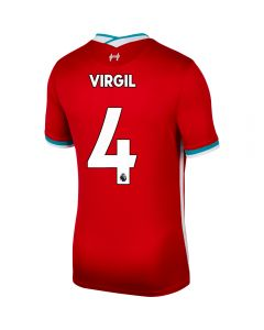 Nike Liverpool 'VIRGIL 4' Home Jersey '20-'21 (Gym Red/White)