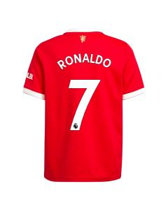 Adidas Manchester United 'RONALDO 7' Home Youth Soccer Jersey '21-'22