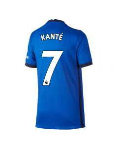 Nike Youth Chelsea 'KANTE 7' Home Jersey '20-'21 (Rush Blue/White)