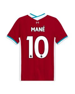 Nike Youth Liverpool 'MANE 10' Home Jersey '20-'21 (Gym Red/White)-YXL