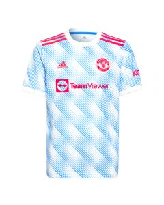 Adidas Manchester United Away Youth Soccer Jersey '21-'22