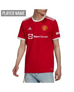 Adidas Manchester United Home Soccer Jersey '21-'22 (Real Red)