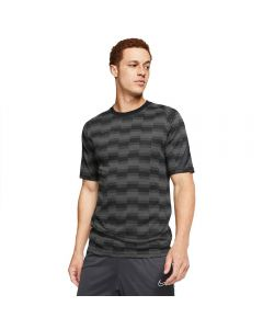 Nike Dri-FIT Academy Pro Short-Sleeve Soccer Top (Black/Black/Anthracite/Anthracite)