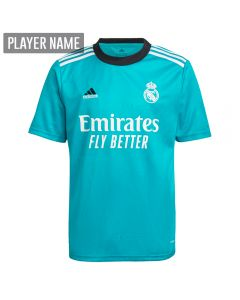 Adidas Real Madrid Third Youth Soccer Jersey '21-'22