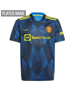 Adidas Manchester United Third Youth Soccer Jersey '21-'22