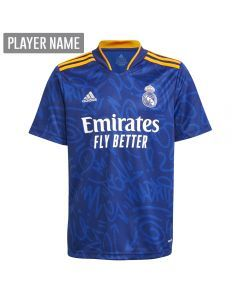 Adidas Real Madrid Away Youth Soccer Jersey '21-'22
