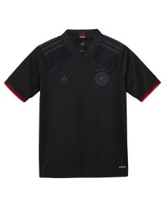 Adidas Germany '20-'21 Away Youth Soccer Jersey (Black/Carbon)